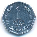Чили, 1 песо (2008 г.)