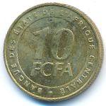 Центральная Африка, 10 франков КФА (2006 г.)