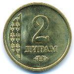 Таджикистан, 2 дирама (2011 г.)