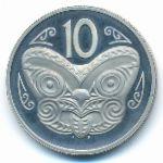 Новая Зеландия, 10 центов (1976 г.)