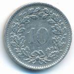 Швейцария, 10 раппенов (1970 г.)