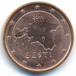 Эстония, 5 евроцентов (2011–2017 г.)
