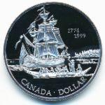 Канада, 1 доллар (1999 г.)