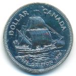 Канада, 1 доллар (1979 г.)