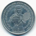 Ниуэ, 5 долларов (1988 г.)