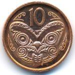 Новая Зеландия, 10 центов (2006–2012 г.)