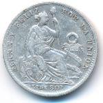 Перу, 1/5 соля (1907 г.)