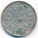Саравак, 10 центов (1934 г.)