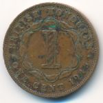 Британский Гондурас, 1 цент (1945 г.)
