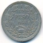Чили, 1 песо (1933 г.)
