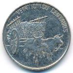 Доминиканская республика, 25 сентаво (1991 г.)