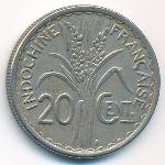 Французский Индокитай, 20 центов (1941 г.)
