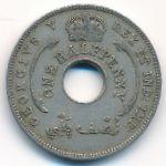 Британская Западная Африка, 1/2 пенни (1935 г.)