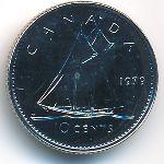 Канада, 10 центов (1979 г.)