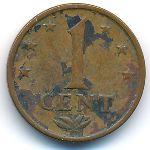 Антильские острова, 1 цент (1973 г.)