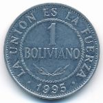 Боливия, 1 боливиано (1995 г.)