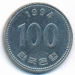 Южная Корея, 100 вон (1994 г.)
