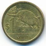 Уругвай, 1 песо (2011 г.)