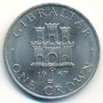 Гибралтар, 1 крона (1967–1970 г.)