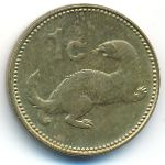 Мальта, 1 цент (1991 г.)