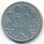 Центральная Африка, 50 франков (1984 г.)