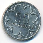 Центральная Африка, 50 франков (1985 г.)