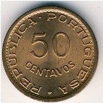 Sao Tome and Principe, 50 centavos, 1962