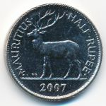 Маврикий, 1/2 рупии (2007 г.)