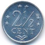 Антильские острова, 2 1/2 цента (1981 г.)