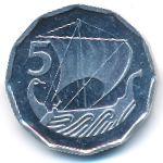 Кипр, 5 мил (1982 г.)