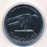 Новая Зеландия, 5 долларов (2006 г.)