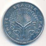 Джибути, 5 франков (1986 г.)