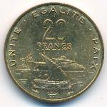 Джибути, 20 франков (1983 г.)