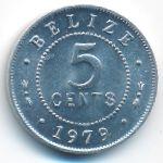 Белиз, 5 центов (1979 г.)