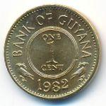 Гайана, 1 цент (1982 г.)