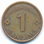 Латвия, 1 сантим (1997–2008 г.)