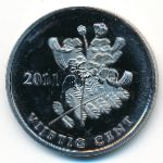 Остров Бонайре, 50 центов (2011 г.)