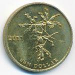 Остров Бонайре, 1 доллар (2011 г.)
