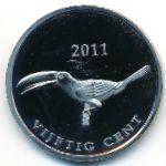 Остров Саба, 50 центов (2011 г.)