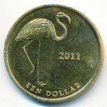 Остров Саба, 1 доллар (2011 г.)