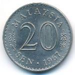 Малайзия, 20 сен (1967 г.)