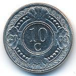 Антильские острова, 10 центов (2009 г.)