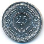 Антильские острова, 25 центов (2009 г.)
