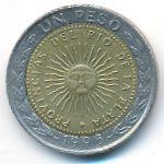 Аргентина, 1 песо (1995 г.)