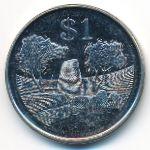 Зимбабве, 1 доллар (2002 г.)