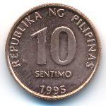 Филиппины, 10 сентимо (1995 г.)