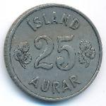 Исландия, 25 эйре (1962 г.)