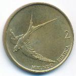 Словения, 2 толара (1999 г.)