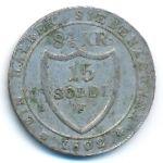 Гориция, 15 сольдо (1802 г.)