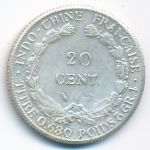 Французский Индокитай, 20 центов (1937 г.)